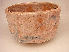 Japanese 20th C. Shino Ware Chawan - Tea Bowl