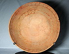 Anasazi / Hohokam /Soho phase large red on buff bowl