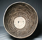 Anasazi/Kayenta negative design bowl ca. 1250 to 1300 ad