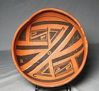 "Jeddito ""Prehistoric Hopi"" polychrome bowl ca. 1325 ad"