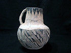 Anasazi/Puerco black on white pitcher cir 1030 to 1150