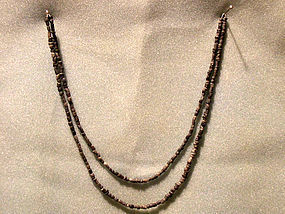 Anasazi Soap stone Bead Necklace cir 1250 ad