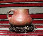 "Anasazi / Sinaqua red ware mug ca. 1000 ad ""No Restoration"""