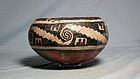Anasazi / Gila polychrome bowl ca 1275 ad