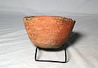 Anasazi / Salado corrugated bowl ca. 1150 ad. Intact