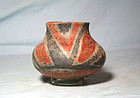 Anasazi / Tonto Salado polychrome olla ca. 1275 ad.