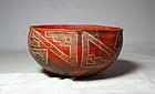 Anasazi / Tucson ploy-chrome bowl ca. 1300 ad.