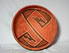 Anasazi / 4-mile polychrome bowl ca. 1325 ad.