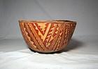 Anasazi / San Carlos poly-chrome bowl ca. 1250 ad.