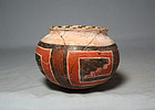 Anasazi / 4-mile poly-chrome olla ca. 1300 ad.