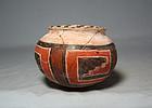 Anasazi / 4-mile poly-chrome olla ca. 1300 ad.