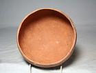 Anasazi / Mogollon plain-ware bowl, ca. 1100 ad.