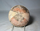 Precolumbian poly chrome bowl ca 1 ad. No Restoration