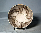 Anasazi / Kiatutaluna black on white bowl ca. 800 ad