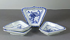Chinese Export Porcelain Dishes, Qianlong, 18th Century