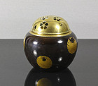 A Japanese Lacquer Koro, 19th Century.