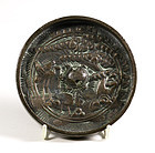 An Early Japanese Bronze Mirror, Kagami, Circa 1600. (No.1)