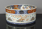 Unusual Japanese Imari Bowl, Edo Period.