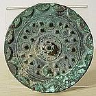 Han Dynasty Bronze Mirror, 1st Century B.C.