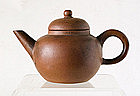 A Miniature Yixing Teapot, 19th Century.