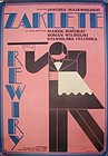 "1975 POLISH MOVIE POSTER Zaklete Rewiry ""Hotel Pacific"""