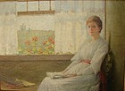 Luminous Interior Portrait CARLE BLENNER 1862-1952