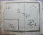Chart of the Sandwich Isles 1826 -  Wlm Ellis London