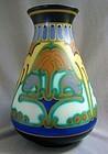 "Large 11"" Gouda Schoonhoven Vase - Corel Design"