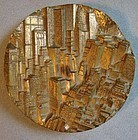 Modernist Medallion New York City 1979 Therese Dufresne