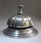 Silver Plate Service Bell FURNESS BERMUDA Ship Lines
