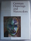 German Drawings and Watercolors Detroit Ins Art-Horst Uhr-1987-1st Ed