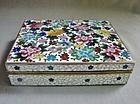 Fine Quality Inaba Cloisonne Box - Millefiori Design