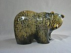 Porcelain Bear by Lisa Larson Skansen Series Gustavsberg 1976