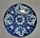 Deep Blue 18th Century Delft Charger