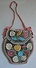 Iroquois Beaded Double Sided Pouch 19th Century