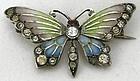 Plique a Jour Butterfly