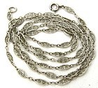Fancy-Link Sterling Long Chain 26�