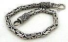 �Byzantine� Bracelet - Silver