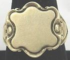 Art Nouveau 14k Signet Ring
