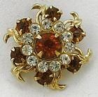 Sweet Little Flower or Snowflake Pin