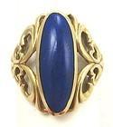 Lapis Lazuli in 14k Gold - Ring