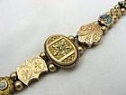Nouveau & Victorian Slide Bracelet