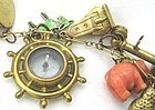 14k Gold Charm Bracelet � A Wild Array!