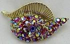 Aurora Borealis Seashell Pin