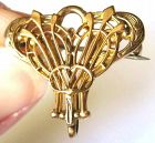 Gold and Gold Filled Watch Pin by Simmons