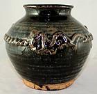 Chinese Jin Dynasty Henan Temmoku Glazed Stoneware Jar