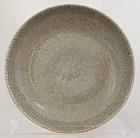 Large Chinese Qing Qianlong Geyao Type Crackle Glaze Porcelain Bowl