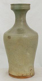 Korean Goryeo Koryo Stoneware Bottle Vase Celadon Glaze