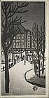 Japanese Woodblock Print Okuyama Gihachiro - Tokyo