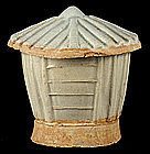 Chinese Song Dynasty Qingbai Yingqing Glazed Porcelain Granary Model